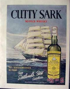 buckingham corp 1960 cutty sark scotlands best distilleries vintage ad