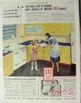 american gas association 1940 cost cooking modern range vintage ad