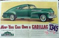 cadillac 1940 now you can own a cadillac sixty one car vintage ad