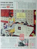 american gas association 1940 new cooking miracles range vintage ad