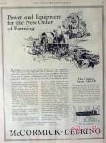 international harvester company 1926 new order of farming vintage ad