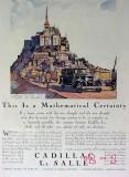 cadillac la salle 1929 mont st michel gm car vintage ad