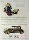 buick 1929 automobile car vintage advertisement