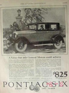 oakland motor car company 1926 value general motors achieve vintage ad