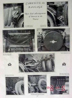 carrying the baggage 1924 rolls royce stutz pictorial vintage article