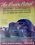 international harvester 1940 brawn patrol heavy duty trucks vintage ad