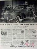 chrysler 1940 new yorker sedan car for your money model vintage ad