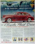chrysler 1941 fluid drive vacamatic transmission car vintage ad