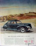 lincoln 1940 zephyr v-12 v12 automobile car vintage ad