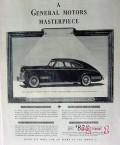 pontiac 1941 gm masterpiece streamliner torpedo coupe car vintage ad