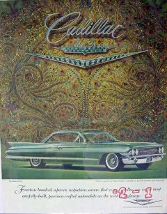 cadillac 1961 harry winston coupe de ville jeweled v car vintage ad