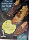 international shoe company 1949 city club ventilated styles vintage ad