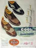 international shoe co 1953 roberts johnson rand cool summer vintage ad