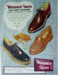 international shoe co 1949 winthrop shoes every occasion vintage ad
