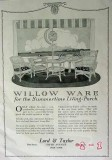 lord and taylor 1917 summertime willow ware patio furniture vintage ad