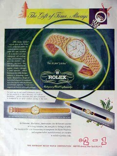rolex watches 1949 jubilee swiss watch vintage ad