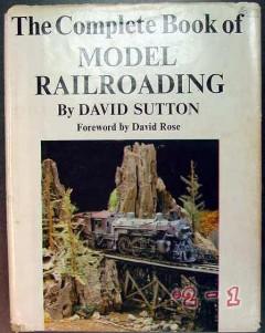 complete model railroading david sutton train vintage book