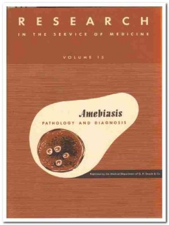 amebiasis pathology diagnosis searle medical book