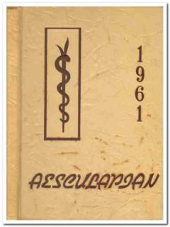 baylor university college of medicine houston tx 1961 yearbook