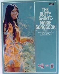 buffy sainte marie songbook illustrated vintage guitar music book