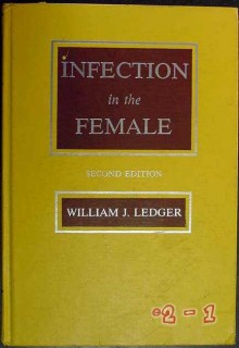 infection in the female william ledger obgyn gynecology medical book