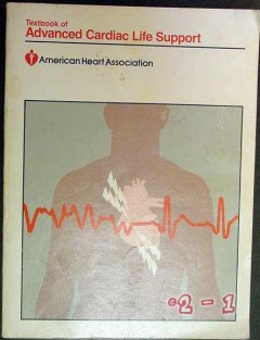 advanced cardiac life support american heart association medical book