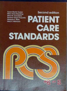patient care standards susan tucker mary anne breeding medical book