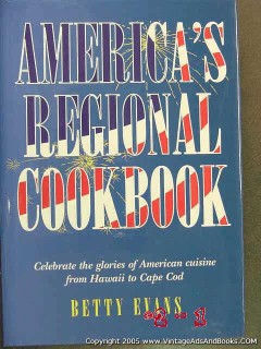 americas regional cookbook hawaii cape code recipes betty evans book