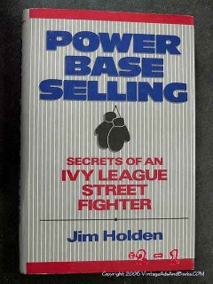 power base selling defeat the competition jim holden sales signed book