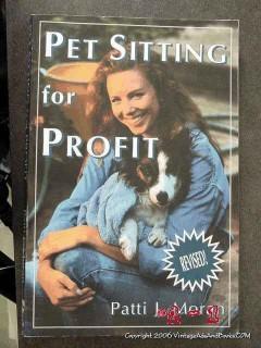 pet sitting for profit patti moran professional dog cat book