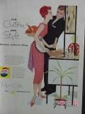 pepsi cola 1958 old custom new style vintage ad