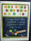 life savers 1950 abacus candy vintage ad