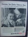 listerine 1959 germs mouthwash vintage ad