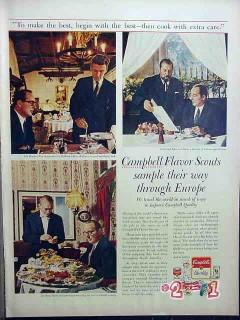 campbells soup 1959 het wappen van amsterdam vintage ad