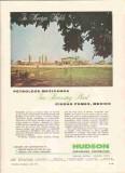 Hudson Engineering Corp 1959 Vintage Ad Oil Petroleos Mexicanos Plant