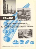 Babcock Wilcox Company 1959 Vintage Ad Oil Pipe Steel Tubular Products