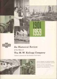 M W Kellogg Company 1959 Vintage Ad Oil Refining Historical Review