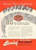 Bovaird Supply Company 1959 Vintage Ad Oil 88 Years Service Panorama