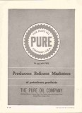 Pure Oil Company 1959 Vintage Ad Petroleum Products Producers Refiners