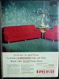 kroehler furniture company 1953 nylon sofa chair furniture vintage ad