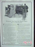 aeolian company 1907 elegant ladies music pianola piano vintage ad