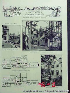 beverly farms massachusetts 1922 j. lowell blake home vintage article