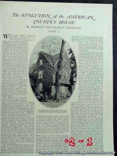 american country house 1922 colonial salem ma vintage article