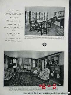 howard lee platt home 1922 new britain ct vintage article