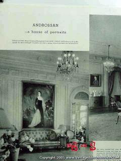 androssan house of portraits 1935 villa nova pa home vintage article