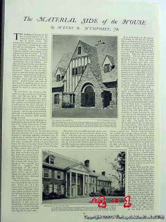 house building materials 1926 home construction vintage article