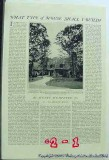 english house 1925 country home construction vintage article