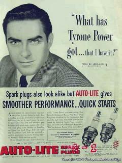 auto lite spark plugs 1953 james kerrigan bronx ny car vintage ad