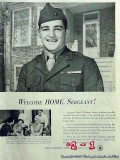 bell telephone system 1953 sgt donald mcintyre purple heart vintage ad