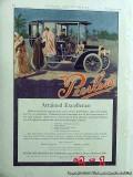peerless motor car company 1907 limousine automobile vintage ad